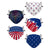 Americana Youth Adjustable 5 Pack Face Cover