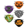 Halloween Youth Adjustable 5 Pack Face Cover