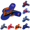 MLB Womens Sequin Flip Flops - Pick Your Team