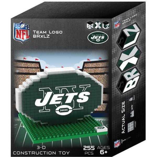 New York Jets NFL 3D BRXLZ Puzzle Team Logo (SHIPS IN EARLY DECEMBER)
