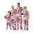 Alabama Crimson Tide NCAA Busy Block Family Holiday Pajamas