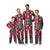 Arkansas Razorbacks NCAA Busy Block Family Holiday Pajamas