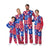 Kansas Jayhawks NCAA Busy Block Family Holiday Pajamas  (PREORDER - SHIPS LATE OCTOBER)