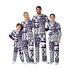 Kansas State Wildcats NCAA Busy Block Family Holiday Pajamas