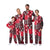 Nebraska Cornhuskers NCAA Busy Block Family Holiday Pajamas