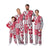 Ohio State Buckeyes NCAA Busy Block Family Holiday Pajamas