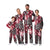 Oklahoma Sooners NCAA Busy Block Family Holiday Pajamas