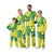 Oregon Ducks NCAA Busy Block Family Holiday Pajamas