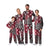 South Carolina Gamecocks NCAA Busy Block Family Holiday Pajamas