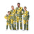 Green Bay Packers NFL Busy Block Family Holiday Pajamas