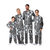 Las Vegas Raiders NFL Busy Block Family Holiday Pajamas