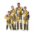Pittsburgh Steelers NFL Busy Block Family Holiday Pajamas