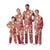 San Francisco 49ers NFL Busy Block Family Holiday Pajamas