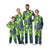 Seattle Seahawks NFL Busy Block Family Holiday Pajamas