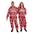 San Francisco 49ers NFL Unisex Holiday One Piece Pajamas