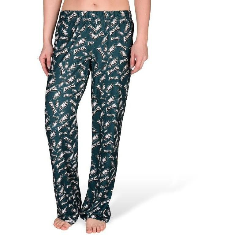 bc7dcd1a Womens NFL Repeat Logo Print Polyester Sleepwear Pants - Pick Your Team