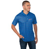 Buffalo Bills NFL Mens Striped Polyester Polo