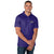 Baltimore Ravens NFL Mens Striped Polyester Polo