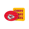 Kansas City Chiefs NFL 2 Pack Ball & Square Push-Itz Fidget
