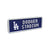 Los Angeles Dodgers MLB BRXLZ Stadium Street Sign (PREORDER - SHIPS LATE MARCH)