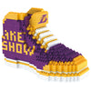 Los Angeles Lakers NBA 3D BRXLZ Construction Puzzle Set Sneaker -