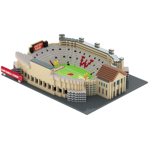 249c77c79e7 Green Bay Packers NFL Lambeau Field 3D BRXLZ Puzzle Stadium Blocks Set    79.99. Wisconsin Badgers NCAA 3D BRXLZ Stadium - Camp Randall Stadium