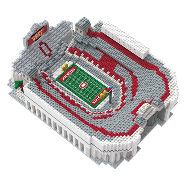 17739da4077 Ohio State Buckeyes NCAA 3D BRXLZ Stadium Blocks Set