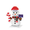 Washington Huskies NCAA BRXLZ Snowman