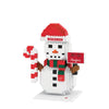 Wisconsin Badgers NCAA BRXLZ Snowman