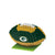 Green Bay Packers NFL 3D BRXLZ Football Puzzle