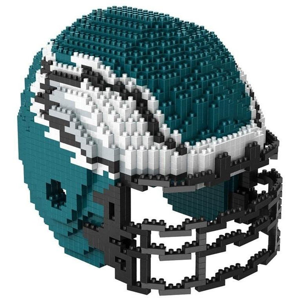 Philadelphia Eagles NFL 3D BRXLZ Puzzle Helmet Set (PRE ORDER - Delivered By 12-19)
