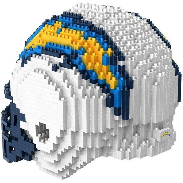 San Diego Chargers NFL 3D BRXLZ Puzzle Helmet Set (PRE ORDER - Delivered By 12-19)