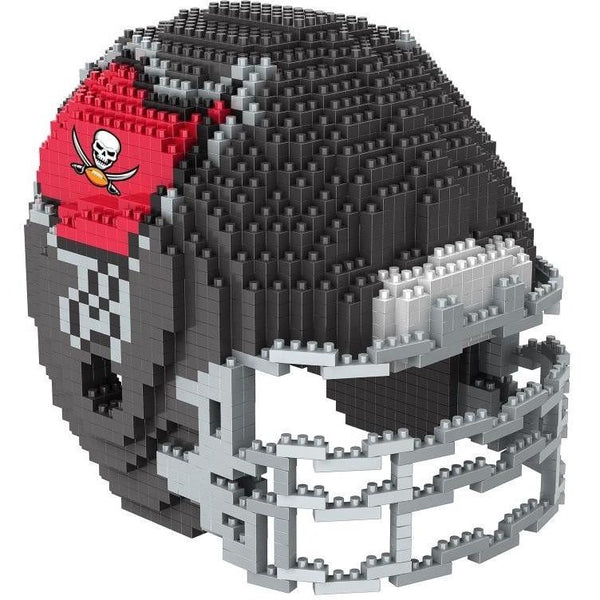 Tampa Bay Buccaneers NFL 3D BRXLZ Puzzle Helmet Set (PRE ORDER - Delivered By 12-19)