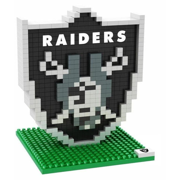 Oakland Raiders NFL 3D BRXLZ Puzzle Team Logo (SHIPS IN EARLY DECEMBER)