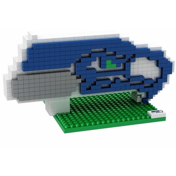 Seattle Seahawks NFL 3D BRXLZ Puzzle Team Logo - Now In Stock!