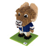 Los Angeles Rams NFL 3D BRXLZ Mascot Puzzle  Set
