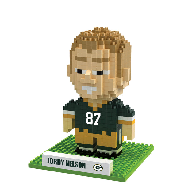 ef3cd7a372b Green Bay Packers BRXLZ 3D Blocks Collection - BRXL Puzzles ...