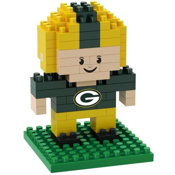 Green Bay Packers NFL 3D BRXLZ Puzzle Player Set (SHIPS IN NOVEMBER)