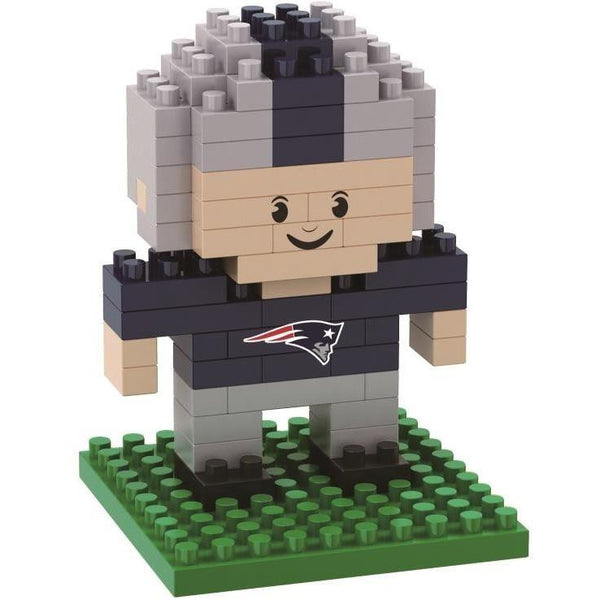 New England Patriots NFL 3D BRXLZ Puzzle Player Set (SHIPS IN NOVEMBER)
