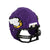 Minnesota Vikings NFL 3D BRXLZ Puzzle Replica Mini Helmet Set