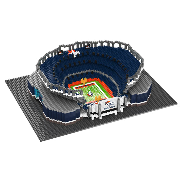 6e7c10a2e31 Denver Broncos NFL Mile High 3D BRXLZ Puzzle Stadium Blocks Set