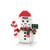 Green Bay Packers NFL BRXLZ Snowman