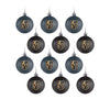 Vegas Golden Knights NHL 12 Pack Ball Ornament Set