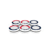 New England Patriots NFL 6 Pack Magnetic Finger Rings