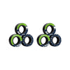 Seattle Seahawks NFL 6 Pack Magnetic Finger Rings