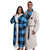 Carolina Panthers NFL Lounge Life Reversible Robe