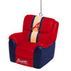 Atlanta Braves MLB Reclining Chair Ornament