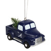 Atlanta Braves MLB Truck With Tree Ornament