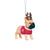 Alabama Crimson Tide NCAA French Bulldog Wearing Sweater Ornament