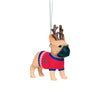 Ole Miss Rebels NCAA French Bulldog Wearing Sweater Ornament